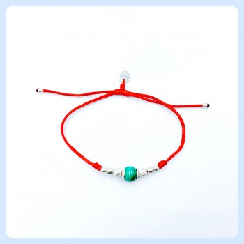 Malachite bracelet red,...