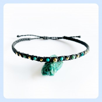 Chrysokolla bracelet,...