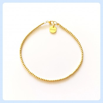 Gold-plated sterling silver...