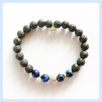 Lava stone bracelet,...