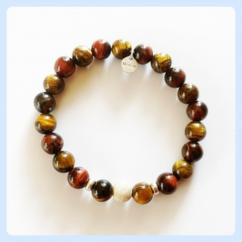 Tiger eye red bracelet,...