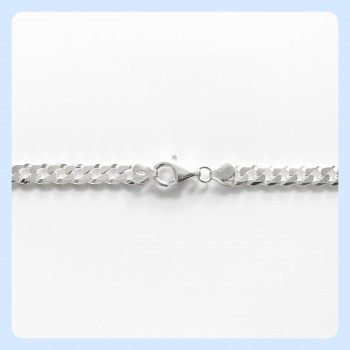 Sterling silver curb chain...
