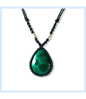 malachite green necklece,...