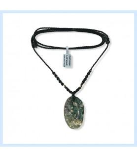 Labradorite stone necklace...