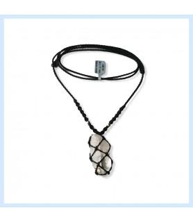 Rock crystal chain unisex,...