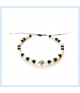jasper and silver bracelet...