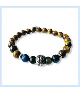 Tiger eye bracelet, tiger...